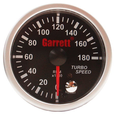 Garrett Turbocharger speed sensor street  with gauge  kit - P N 781328    Garrett Turbocharger