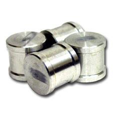 """Billet Plug, 1.25"""" for EVO8 (or other) diverter valve blockoff"""