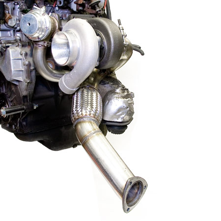 "3"" turbo v-band downpipe assembly for vr6 : atpturbo"