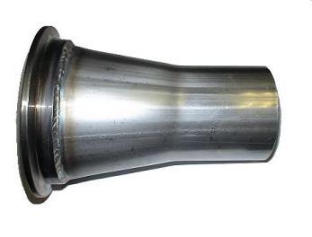 V Band Flanged Mild Steel Flange Tig Welded To S S