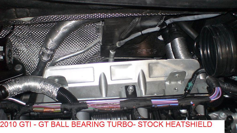 350HP - GT28RS Stock Location Turbo & Manifold for 2 0T FSI / TSI