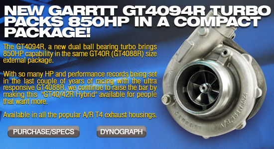Upgrade path for the GT40R now available from Garrett