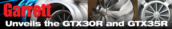 Garrett unveils the GTX30R and GT35XR Series Turbos at SEMA 2010