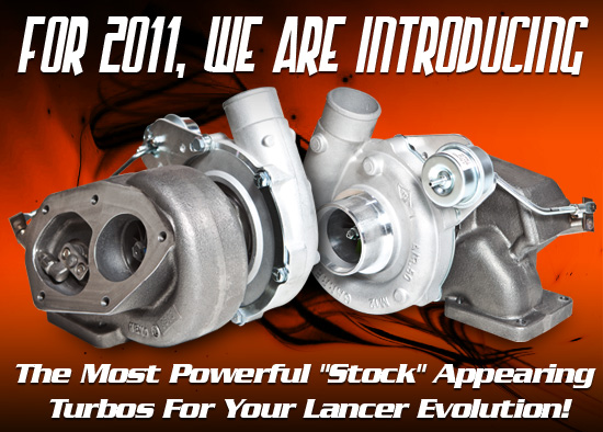 Most Powerful Stock Appearing Turbos For The EVO 8/9