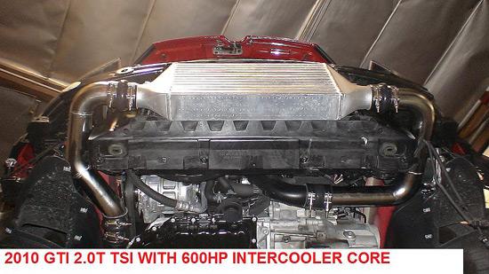 FMIC (Front Mounted Intercooler) Kit for 2.0T FWD FSI /TSI (2006-2010 GOLF/GTI/JETTA) : atpturbo.com