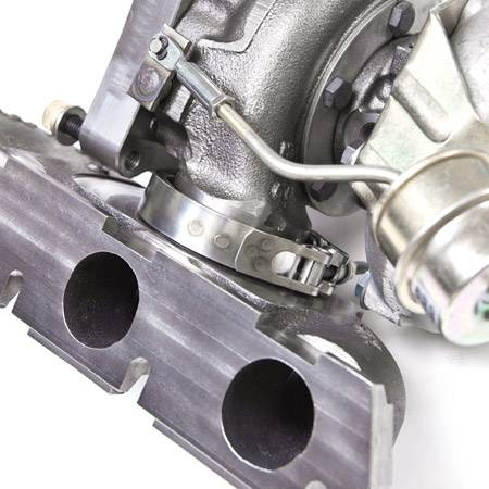 500hp Gt3076r Wg Stock Location Turbo Amp Manifold For 2