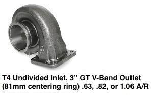 Garrett GT3582R (aka GT35R, aka GT35/40R) Bearing Turbo