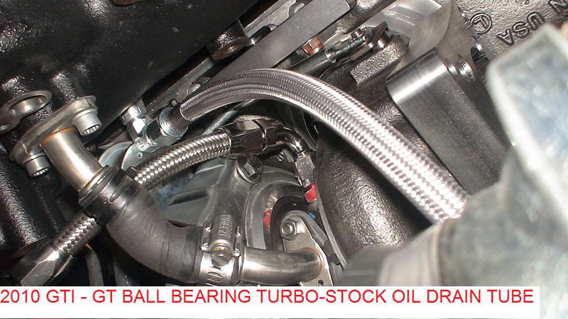 450HP - GT3071R-WG Stock Location Turbo & Manifold for 2 0T FSI